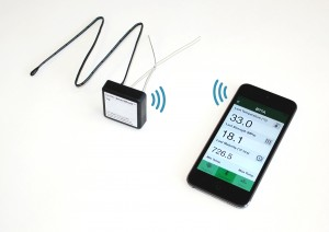 Giatech SmartRock wireless concrete sensor