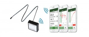 Giatec SmartRock sensor and mobile UI