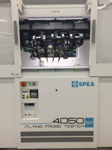 SPEA Flying Probe Test equipment at OCM Manufacturing, Ottawa